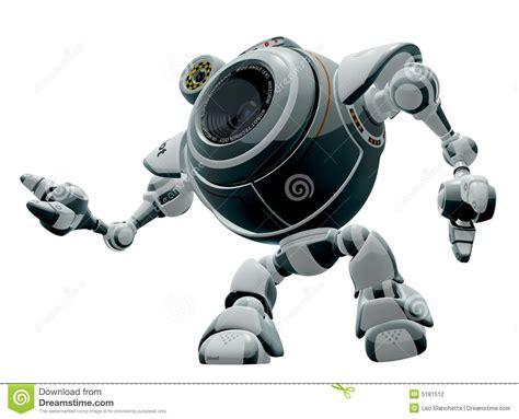Robot Cartoon Stock Illustration. Image Of Robot, Graphics