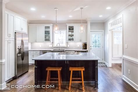 traditional kitchen  light bright  airy makeover