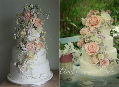 tumbling trailing sugar flowers cake geek magazine