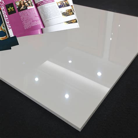 high quality white polished porcelain floor tiles