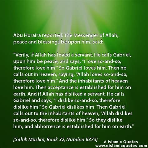 islamic quotes  allahs love hadith quote muslim