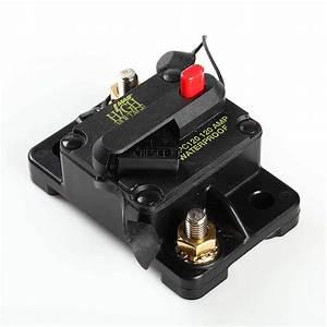 Waterproof 120 Amp Manual Reset Circuit Breaker 12v Car