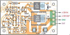 Speed Controller Dimmer Circuit Diagram