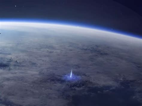Mysterious Blue Jet Lightning Seen From Space | Smart News ...