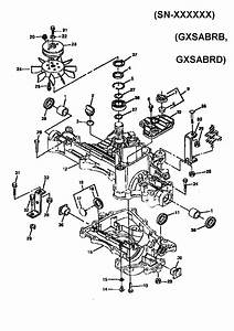 Transaxle Case  Hydro  Diagram  U0026 Parts List For Model