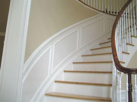 Radius Wainscoting   Traditional   Staircase   new york