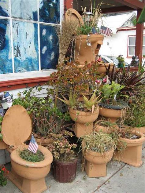 Garden Decoration Ideas With Pots by How To Decorate Outdoor Pots Of Plants Home