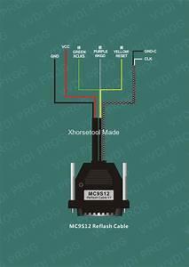 How To Use Ecu  Mcu  Mc9s12 Reflash Cable With Vvdi Prog