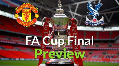 fa cup final  manchester united  crystal palace