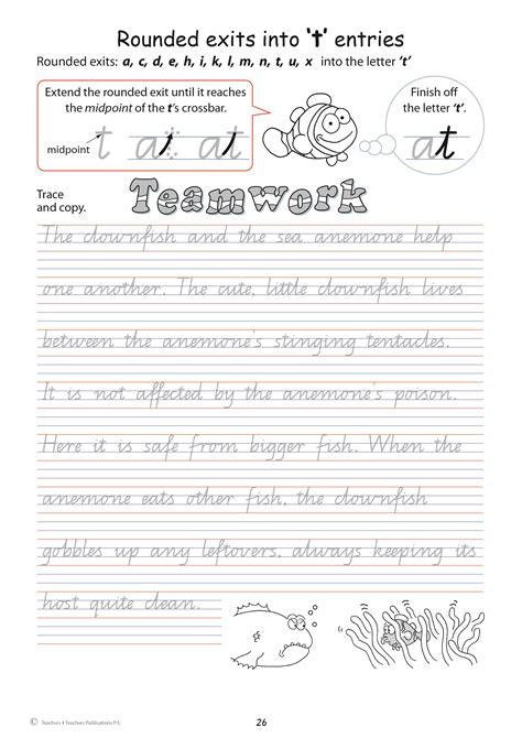 handwriting conventions queensland teachers  teachers