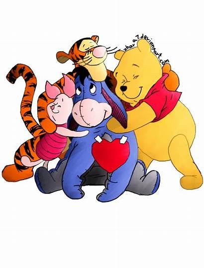 Pooh Winnie Friends Hugs Kram Hug Varm