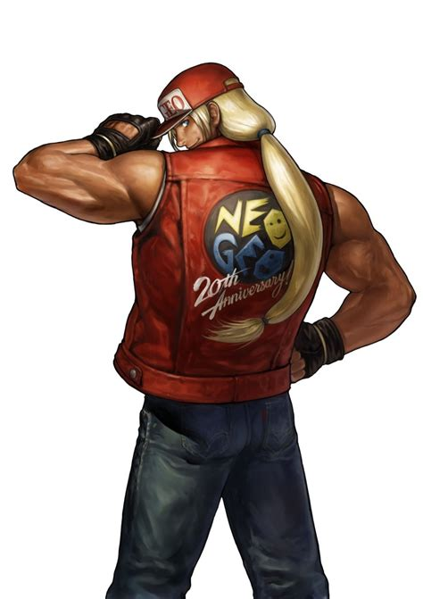 terry bogard fighters generation profile art gallery