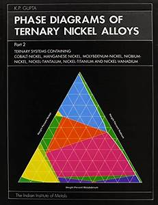 9788185307114  Phase Diagrams Of Ternary Nickel Alloys