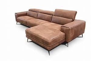 Sofa Mit Holzrahmen : modulare sofa mit kopfst tze mechanismus idfdesign ~ Frokenaadalensverden.com Haus und Dekorationen