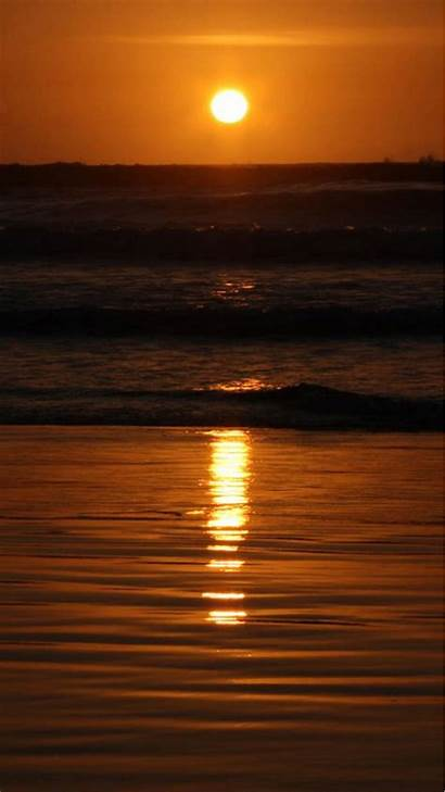 Iphone Sunset Peace Android Beach Wallpapers