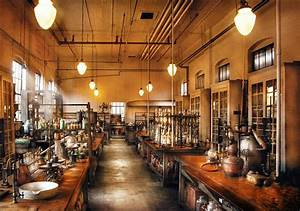 Chemist - The Chem Lab Photograph by Mike Savad