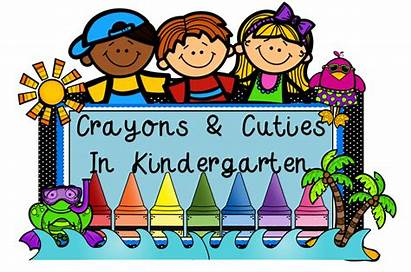 Kindergarten Clipart Crayons Clip Welcome Thank Library
