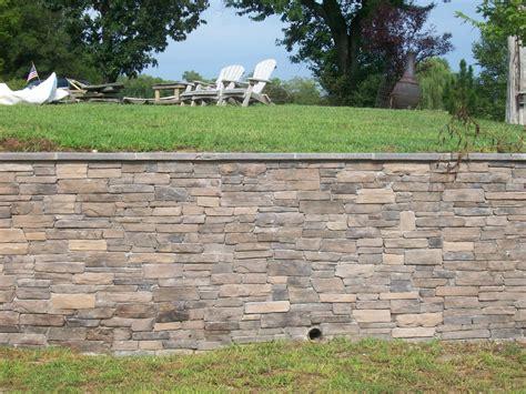 retaining wall project stavemillstone