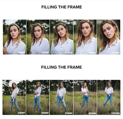 heres  focal length affects portraits mm  mm