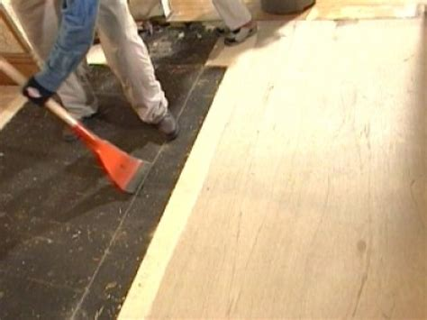 How To Replace Underlayment In A Kitchen  Howtos  Diy