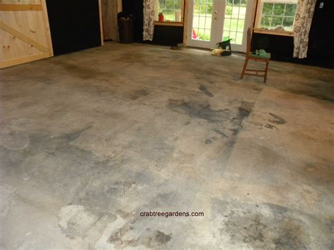 Floor Paint Marble by How To Make A Concrete Floor Look Like Limestone