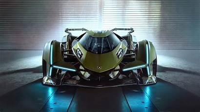 Lamborghini V12 Vision 4k Lambo Turismo Gran