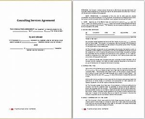 Word consulting services agreement template free for Consultation agreement template