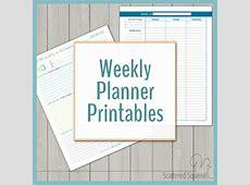 Weekly Planner Printables {Personal Planner}