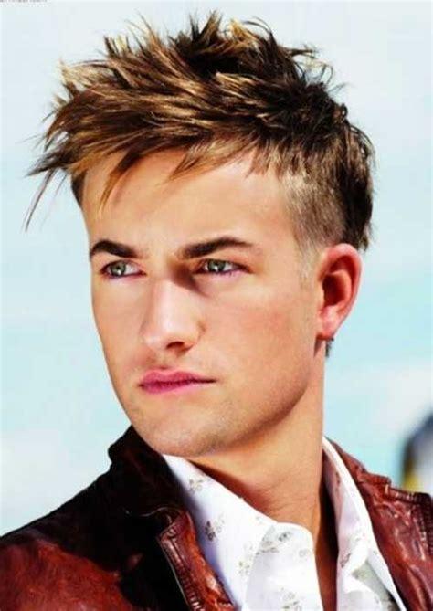 short spiky hairstyles  men   mens hairstyles haircuts