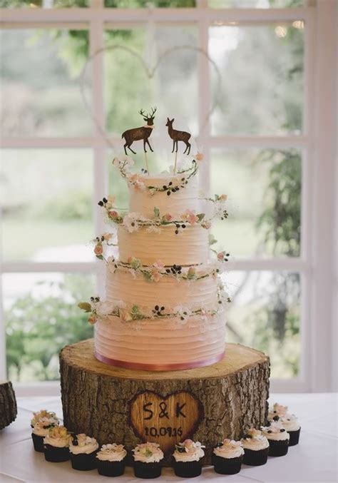 25 best ideas about rustic wedding cakes on pinterest