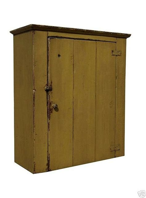 Primitive Cabinet by Farmhouse Wall Cabinet Primitive Painted Pine Furniture