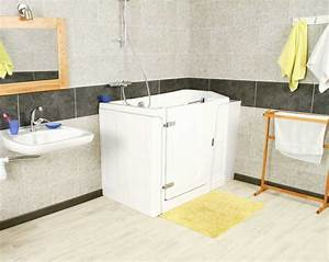 amenagement salle de bain pour handicape et senior With amenagement salle de bain handicape