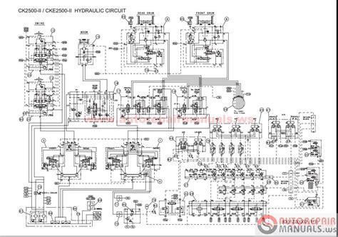 free auto repair manual kobelco crane shop manual