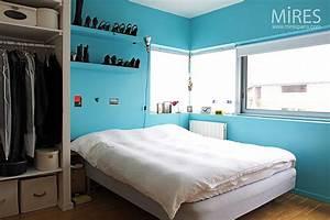 Petite chambre bleue C0117 Mires Paris