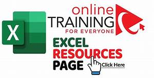 Online Training For Everyone Resources Page Click Here