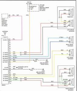 2000 Cavalier Radio Wiring Diagram