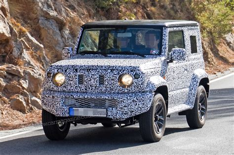 suzuki jimny suzuki jimny suv cute n rugged 4x4 spotted by car magazine