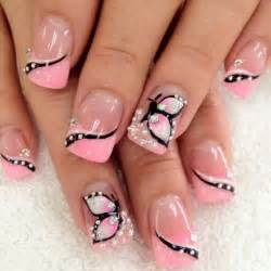 Breath taking butterfly nail designs pretty