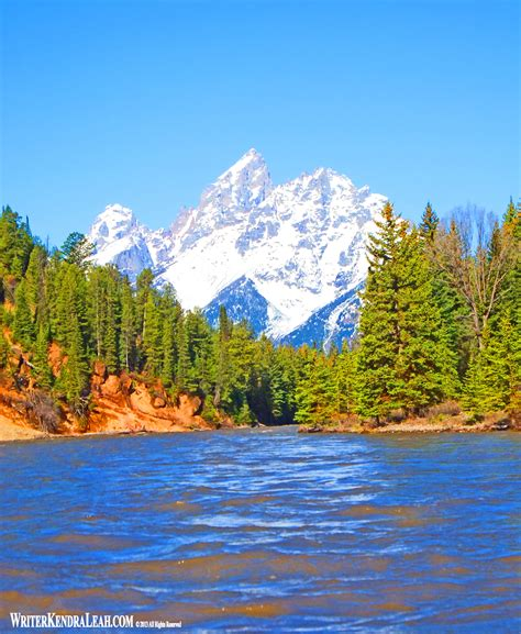 Grand Teton National Park Kendra Leah Fuller Author