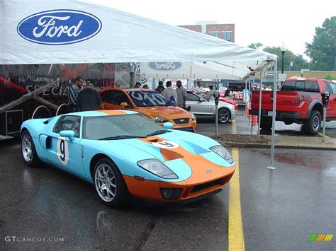 gulf racing colors ford gt in the gulf oil blue orange racing colors