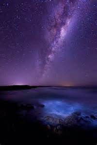 Milky Way Over Ocean