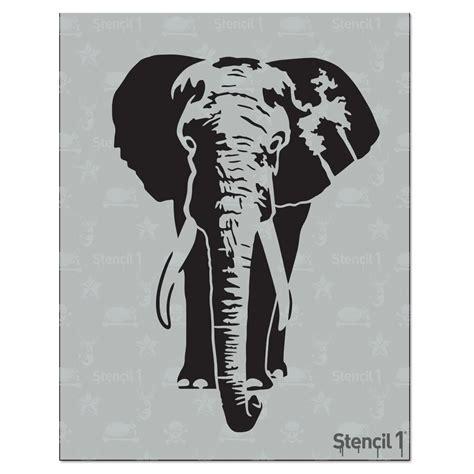 stencil1 elephant stencil s1 01 303 the home depot