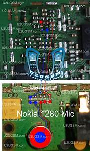 All Cellular Mobile Repair Solution  Nokia 1280 Mic Ways