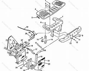 Polaris Atv 1996 Oem Parts Diagram For Front Rack  U0026 Bumper Mounting Sportsman 500  U0026 Swedish