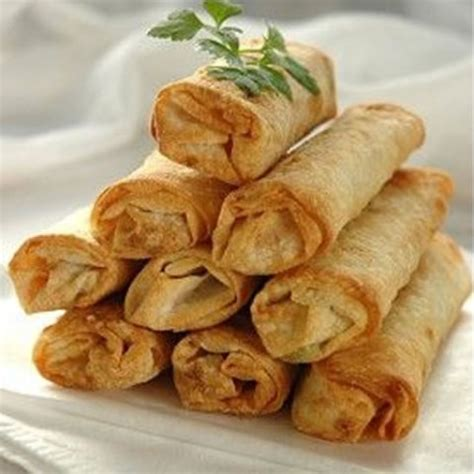 vegetable spring rolls appetizer air fryer healthy recipe