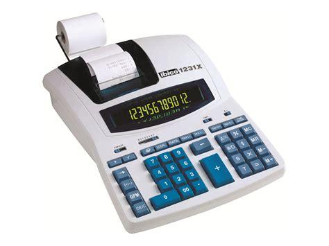 taxe bureau rexel ibico professional 1231x calculatrice avec