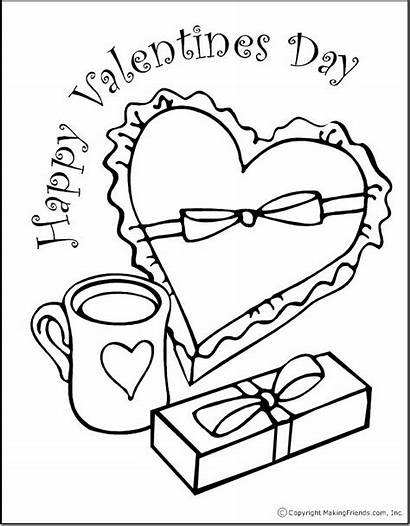 Valentine Coloring Pages Printable Valentines Sheets Happy