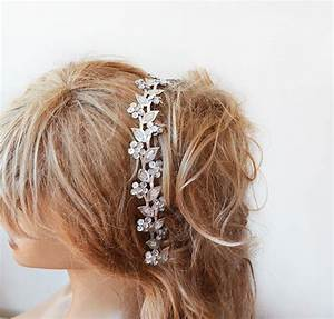Silver Sparkly Headband Silver Hair Accessories Silver