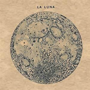 Vintage Moon Illustration | www.imgkid.com - The Image Kid ...
