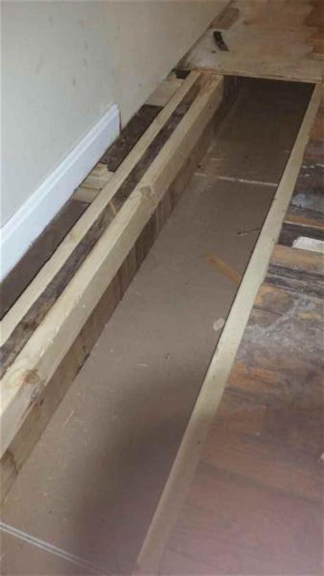 Replacing Subfloor Under Interior Wall Doityourselfcom